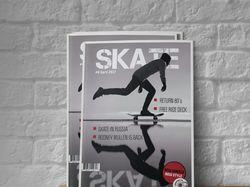 Обложка журнала SKATE