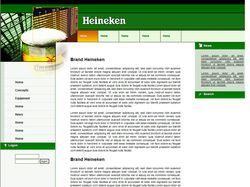 Сайт для раскрутки think-bar-ов для Heineken Int.