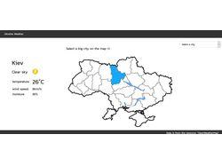 Сайт погоды Украины