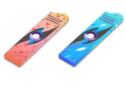 Дизайн упаковки для детского товара солнечные часы