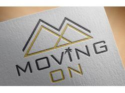 """Логотип """"Moving On"""""""