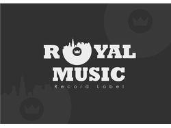 """Логотип и фирменный стиль """"Royal Music"""""""