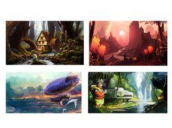 Иллюстрации и концепт арты