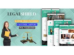 LegalShield | Lawyer Premium HTML Template