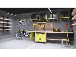 Дизайн гаража в г. Киев