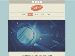 Сайт Halftone