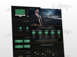 Дизайн сайта для прокачки бюджета
