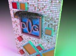 3D плакат в 3D MAX
