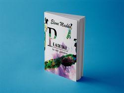 "Обложка для книги ""Peacocks in my garden"""