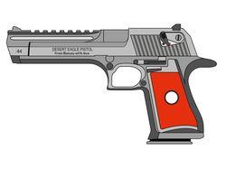 Модель пистолета