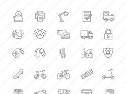 Иконки для сайта склада