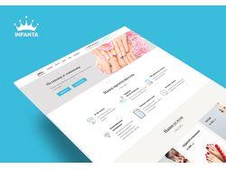 "Сайт для салона красоты ""Infanta"""