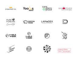 Коллекция логотипов 2018