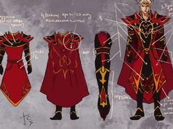 концепт брони по вселенной World of Warcraft