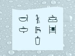 иконки сайта элитной сантехники badeloft.com