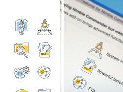 иконки для программы NimbleCommander