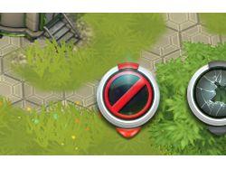иконки-метки для игры