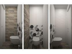 Дизайн санузла и ванной комнаты, 2018 г.