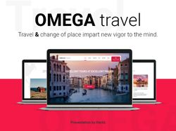 OMEGA travel - Landing Page