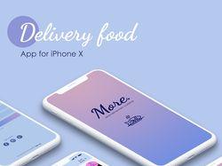 Презентация дизайна приложения по доставке еды