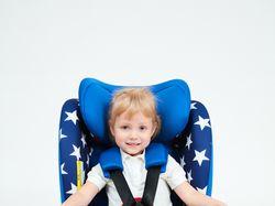Реклама детского кресла