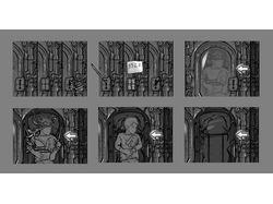 Zoom zones sketches for Hidden Object games
