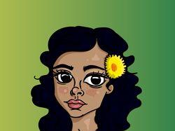 Портрет в иллюстраторе