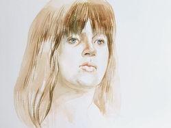 Портрет. Акварель