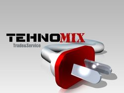 "Логотип торговой сети ""ТехноМикс"""