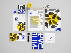 брендбук для типографии ТИПОГРАФ