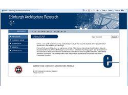 Edinburgh Architecture Research