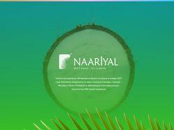 Разработка сайта и бренда для компании Naariyal