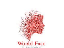 Логотип WorldFace компания продажи филлеров