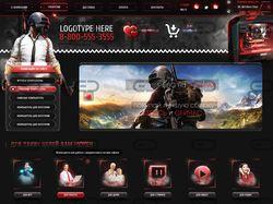 Разработка дизайна сайта для конкурса
