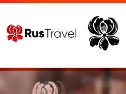Логотип для проекта RusTravel