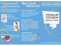 """Буклет с иконографикой """"Итоги пяти лет работы"""""""