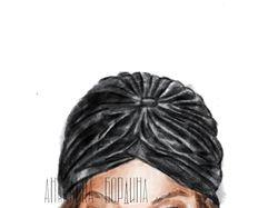 Рисунок Tyra Banks