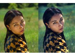 Профессиональная ретушь и цветокоррекция фото.