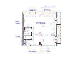 Перепланировка двухкомнатной квартиры 82 м кв