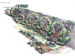 Эскизный проект частного дома в Ялте