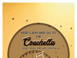 "Листовка для фестиваля ""Coachella"""