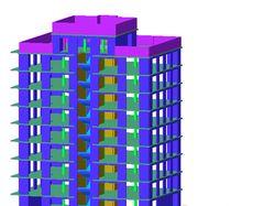 Расчет жилого здания