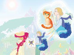 иллюстрации для обучающей сказки