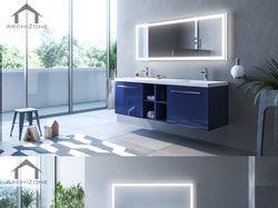 3D визуализация мебели для ванных комнат