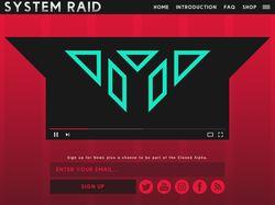 Мокап Целевой страницы Игрового Проекта