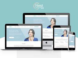 """Сайт консультативного центра """"Nest"""""""