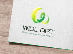 Логотип и визитка для веб-студии WIDL ART
