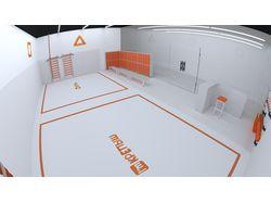 3D моделирование и визуализация спортклуба/заказ