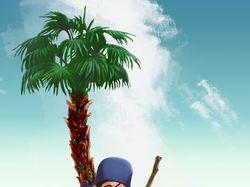 Пират на острове ( 20  часов в работе )