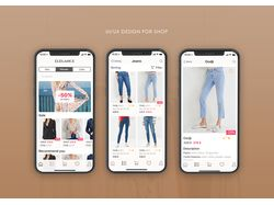 UI/UX for Shop